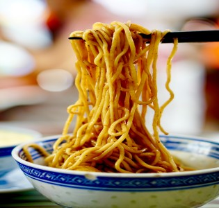 What are instant noodles made up of?